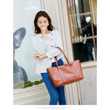 Four Piece Handbag, Shoulder Bag, Cosmetic Bag and Wallet Set - 6 Colors (FREE SHIPPING)