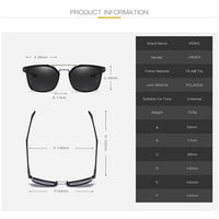 Classic Polarized HD UV400 TR90 Sunglasses - 4 Colors (FREE SHIPPING)