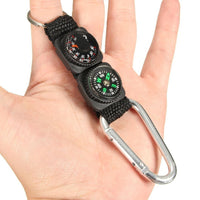 Mini 3in1 Compass, Thermometer and Carabiner Keychain (FREE SHIPPING)