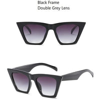 Vintage Cat Eye Polycarbonate UV400 Sunglasses - 7 Colors