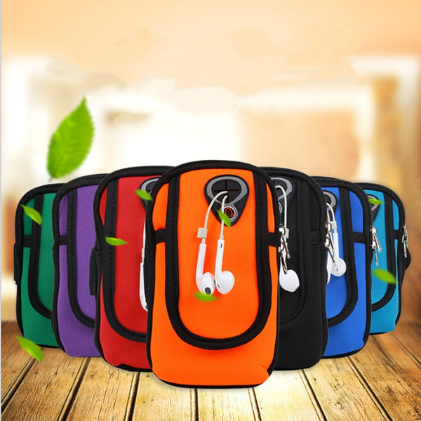 Waterproof Nylon Mobile Phone Arm Bag for Sports/Outdoors (FREE SHIPPING)