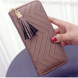 Long PU Leather Clutch Wallet (FREE SHIPPING)