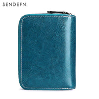 Genuine Split Leather Casual Wallet - Available in 3 Different Colors (FREE SHIPPING)