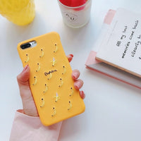Fruit Embroidered Mobile Phone Case for iPhone - 3 Fruit Patterns/Colors (FREE SHIPPING)
