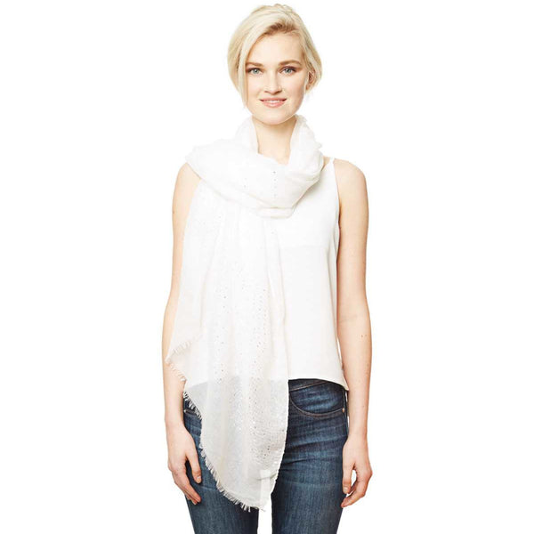 Solid Lurex Scarf - 5 Different Colors!