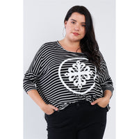 "Plus Size Relaxed Fit ""Kiki Larue"" Top"
