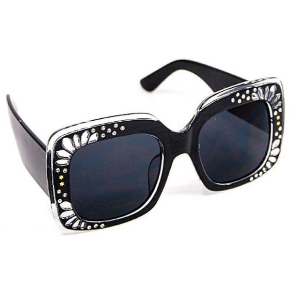 Designer Rhinestone UV400 Sunglasses - Available in 5 Colors!