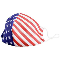 American Flag Reusable Water Resistant Face Mask