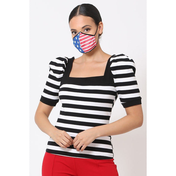 American Flag Reusable Breathable Face Mask