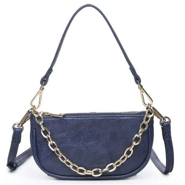 Mini Handbag with Chain and Detachable Shoulder Strap - 4 Colors