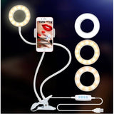 100% Quality Guaranteed! Photo Studio Selfie LED Light Ring w/Phone Holder (FREE SHIPPING)