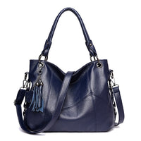 Designer PU Leather Handbag w/Shoulder Strap - 4 Different Colors (FREE SHIPPING)