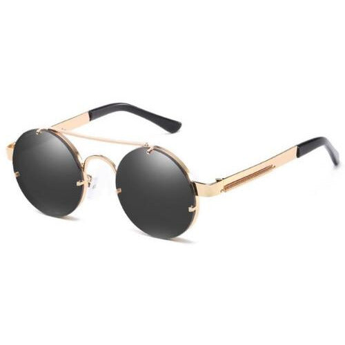 Retro Round Steampunk Sunglasses - 6 Colors to Choose From (FREE SHIPPING)