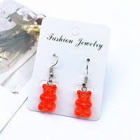 Cute Gummy Bear Earrings - Available in 8 Different Colors (FREE SHIPPING)