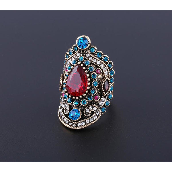 Vintage Decorative Stone Ring (FREE SHIPPING)