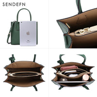 Genuine Split Leather Bags in Big and Small Sizes - 2 Colors (FREE SHIPPING)