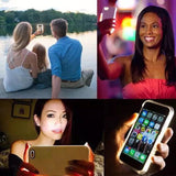 Light Up Selfie Flash Mobile Phone Case for iPhone (FREE SHIPPING)