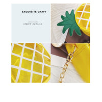 Pineapple Shoulder Bag w/Chain Strap (FREE SHIPPING)