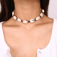 Bohemian Seashell Choker Necklace and Bracelet - Individual or Set (FREE SHIPPING)