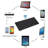 Universal Wireless 3.0 Bluetooth Keyboard for Apple/Android/Windows Systems (FREE SHIPPING)