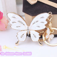 Butterfly Lovers Crystal Keychain - 3 Different Styles  (FREE SHIPPING)