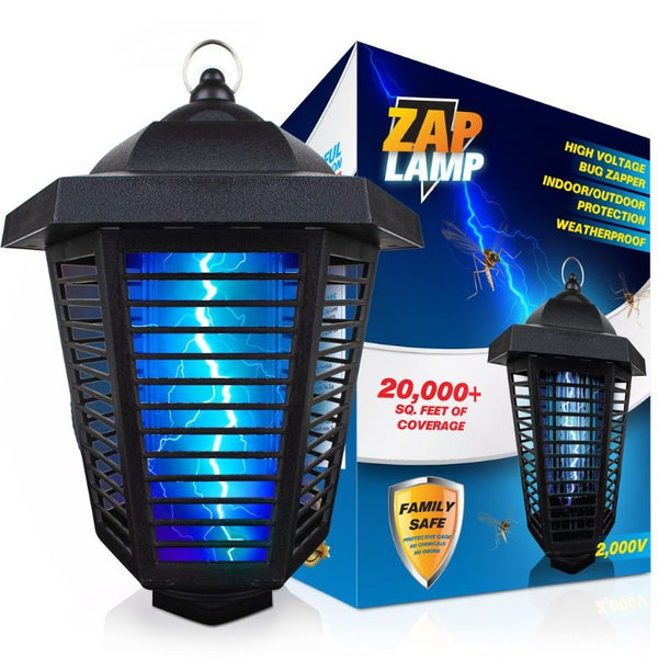Livin' Well 2000V Electric Mosquito and Insect Zapper (FREE SHIPPING)