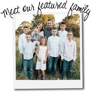 Meet Erin & Phillip and their BIG family with BIG hearts!