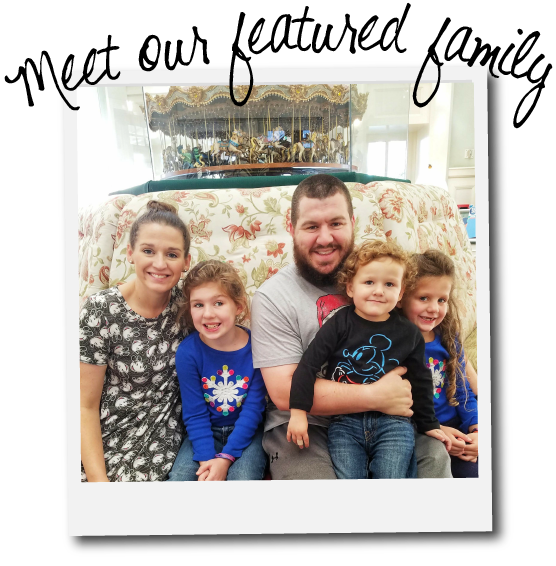 Sean and Krista are adding another child to their noisy, loving, & multi-generational home!