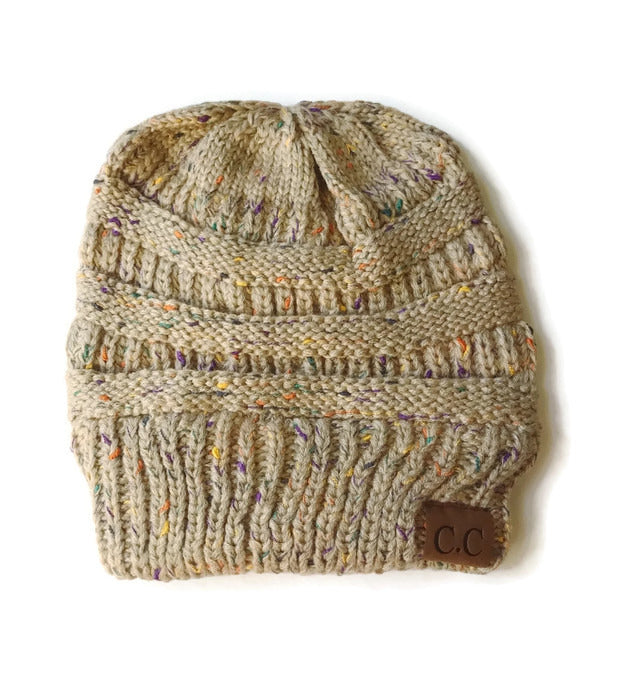 Classic Beanie Hat - Taupe