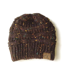 Classic Beanie Hat - Chocolate Brown