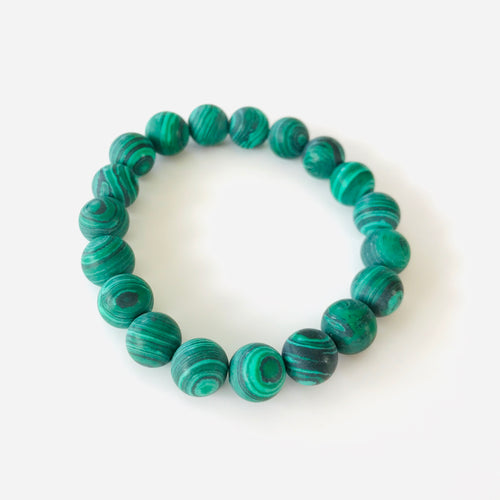 Green Marbled Bracelet