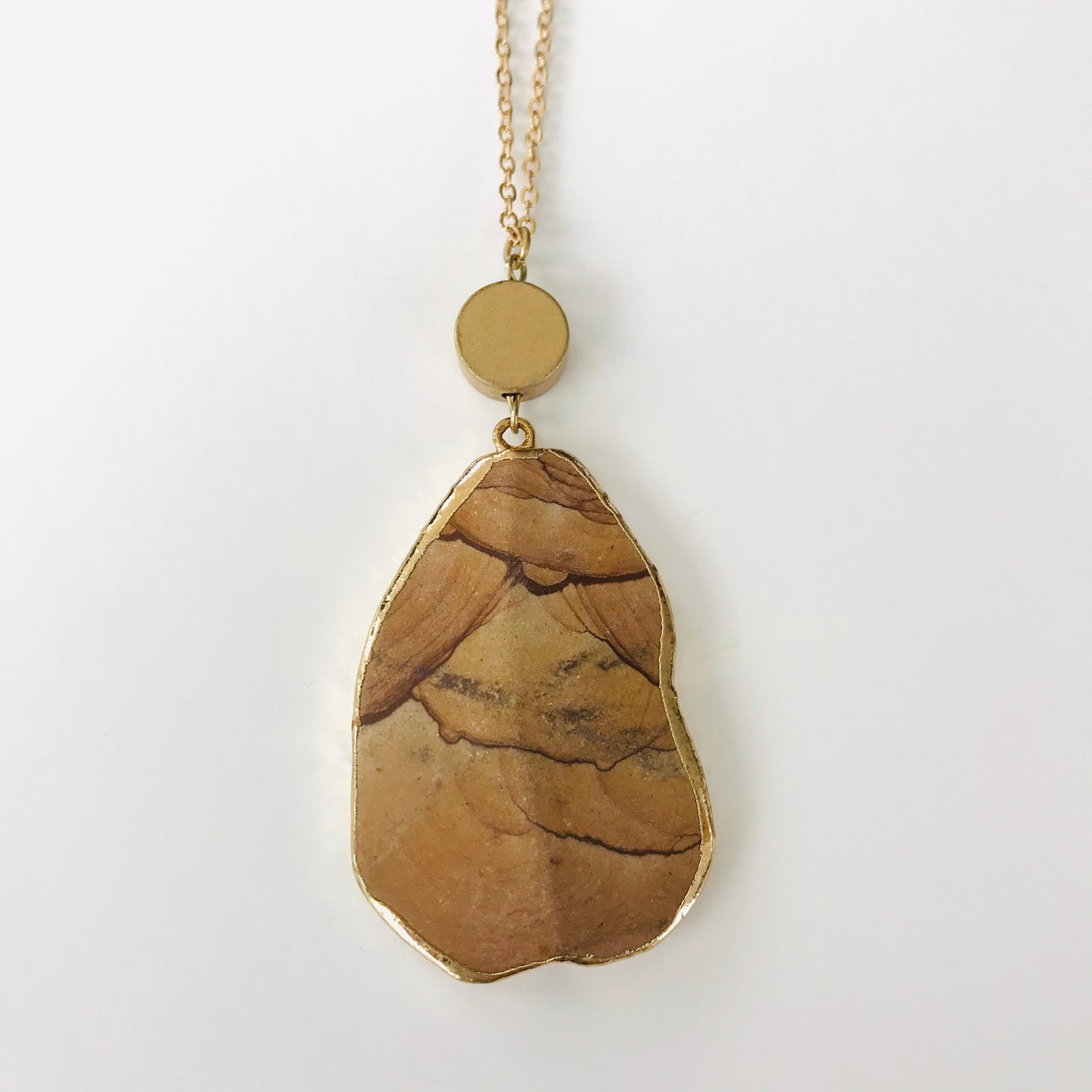 Wooden Pendent Necklace