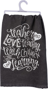 Teacher Love Towel