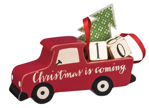 Red Truck Christmas Countdown