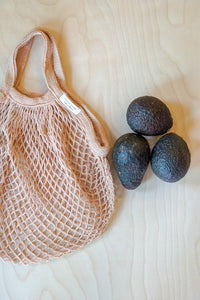 Avocado Hand Dyed Re-Usable Bag