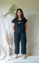 Load image into Gallery viewer, KIHO TROUSERS - ONYX