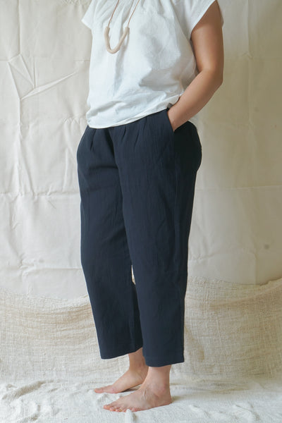 Kiho Trousers - Midnight