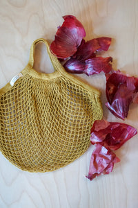 Red Onion Hand Dyed Bag