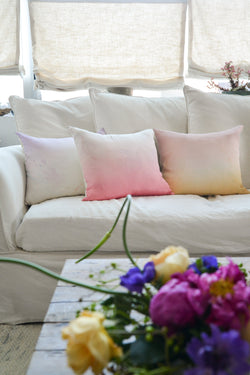 Ombré Rose Pillow