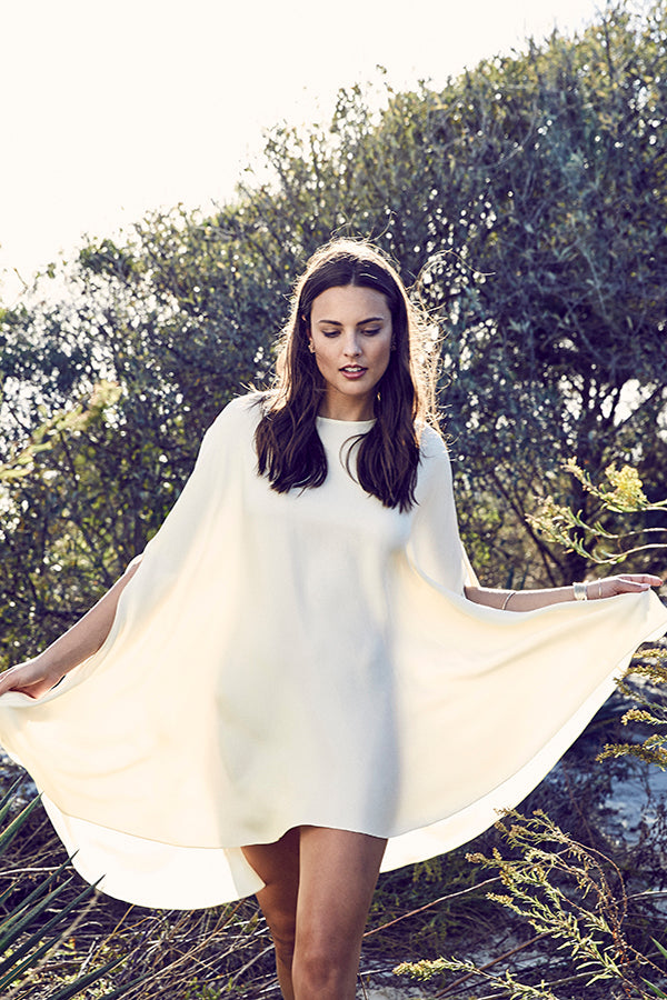 Calla Lily Cape Dress
