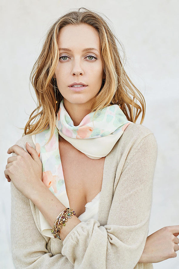SUMMER BLOOMS SCARF