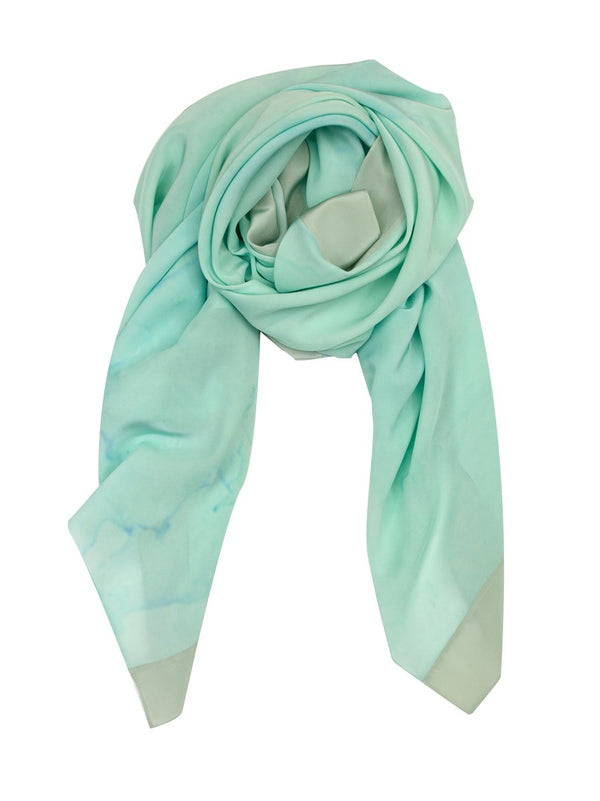 TRANQUILITY SILK SCARF