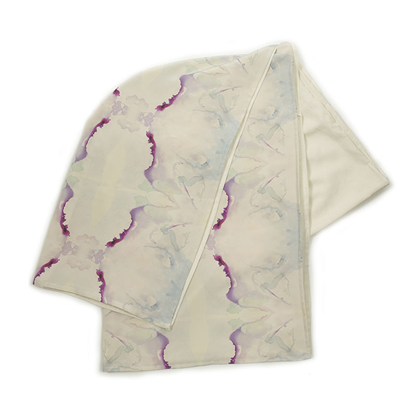 WHISPERS IN THE MOONLIGHT THROW, WHITE