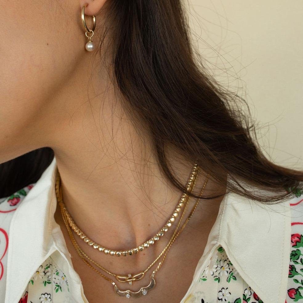 Vintage Gold Necklaces