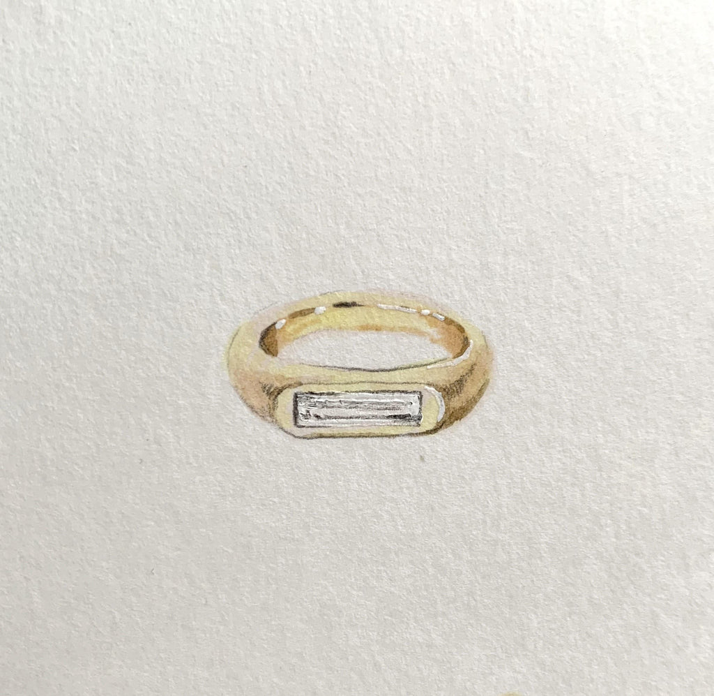 Two Pockets Ring Inspiration
