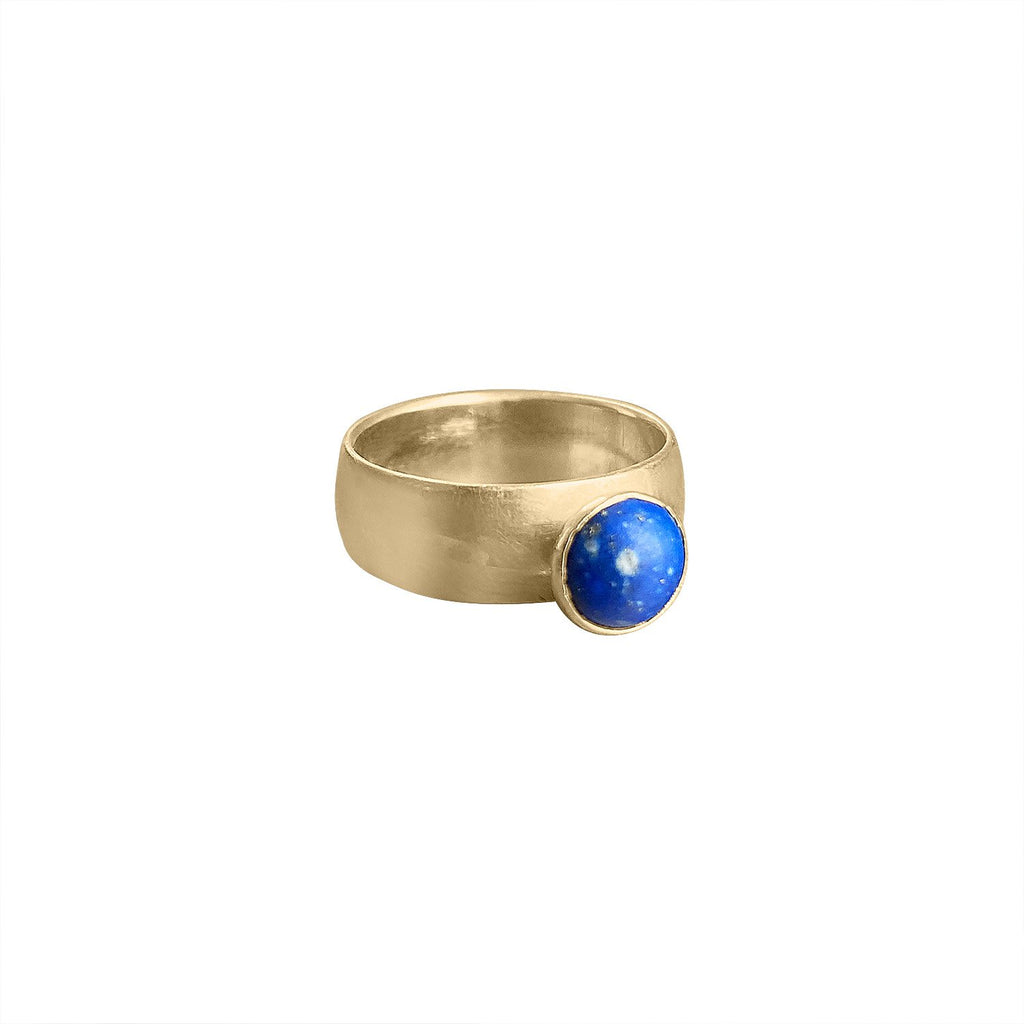 Vintage Lapis Ring by Fewer Finer