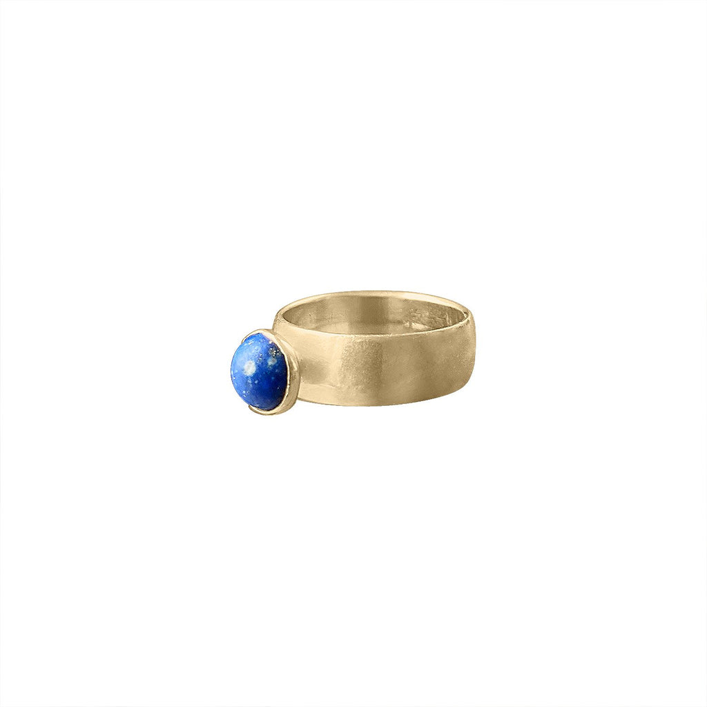 Vintage 14k Gold and Lapis Ring