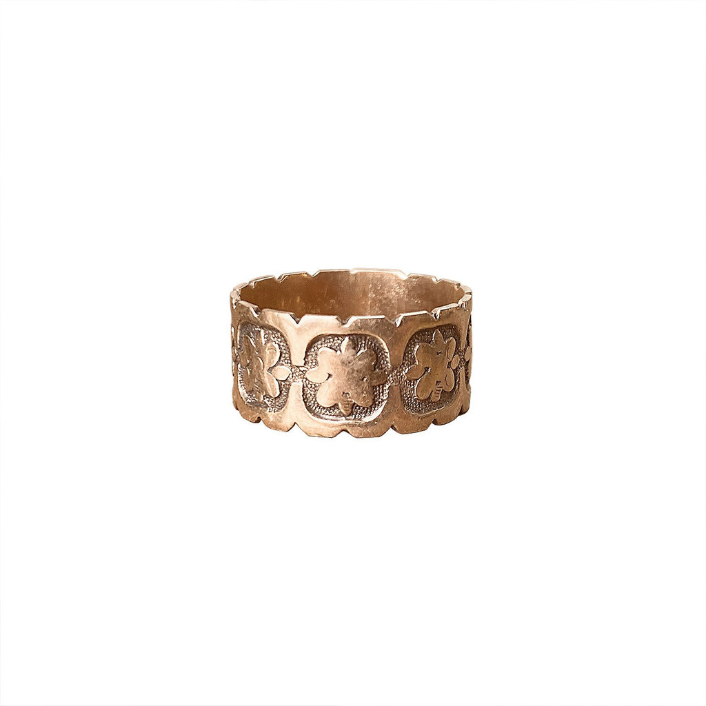 Vintage Rose Gold Victorian Ring by Fewer Finer
