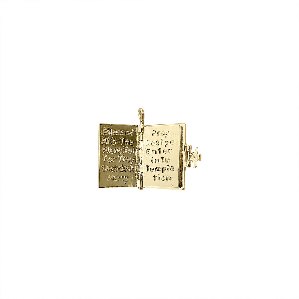 Vintage Holy Bible Charm Scripture for Women