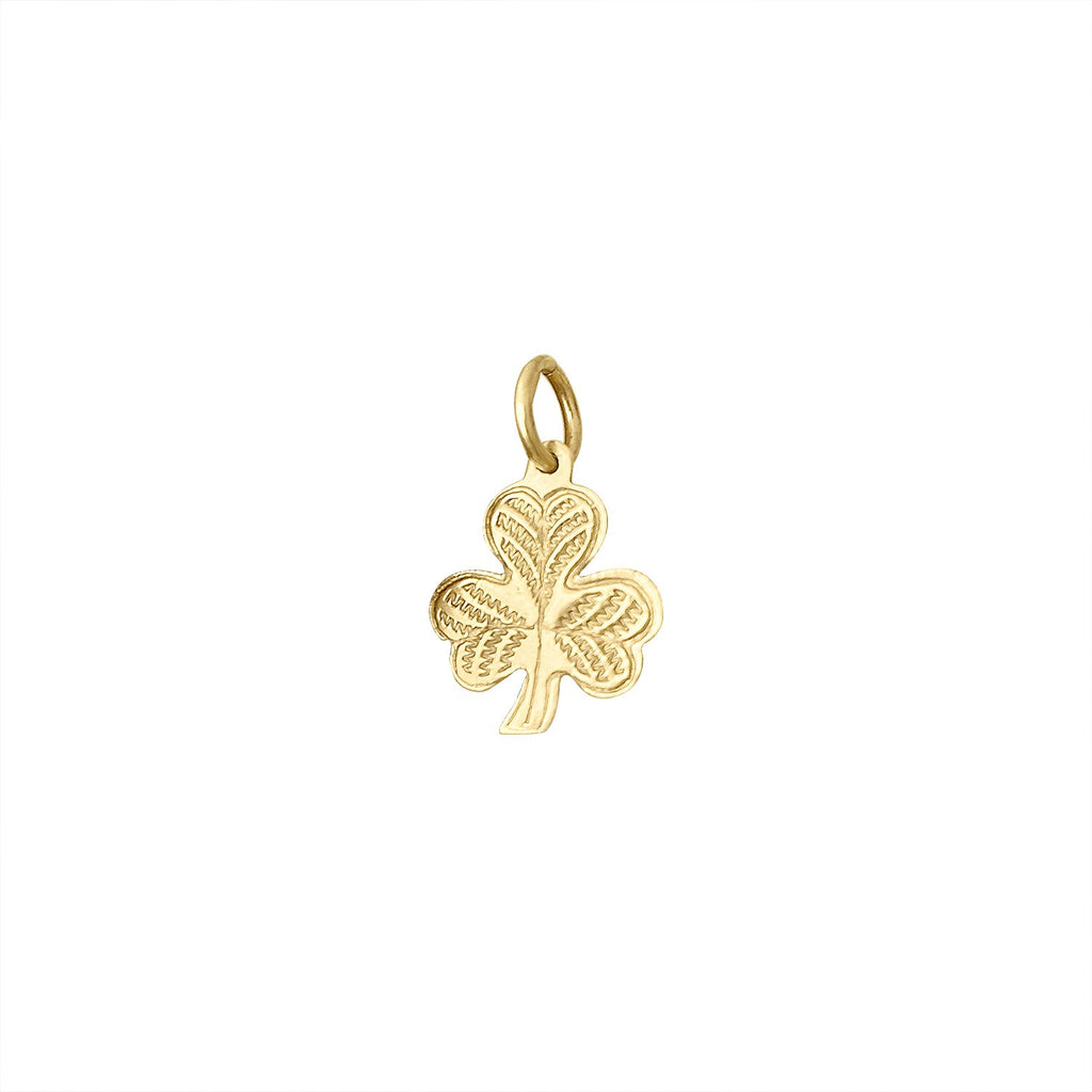 Vintage Clover Charm by Fewer Finer